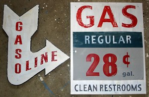 vintage gas