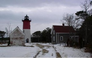 Nauset Light winter
