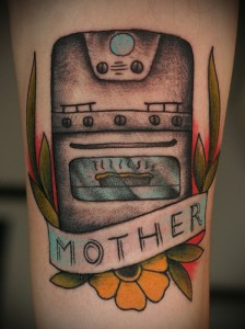 mother oven tattoo